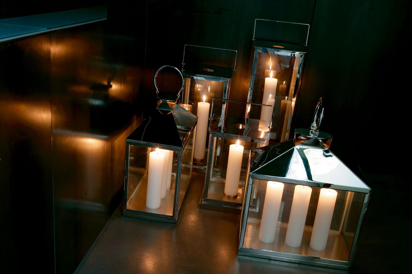 Lanterne da giardino per candele lanterne da esterno per candele