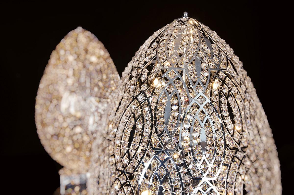 Illuminare con luce led e cristalli swarovski il matrimonio