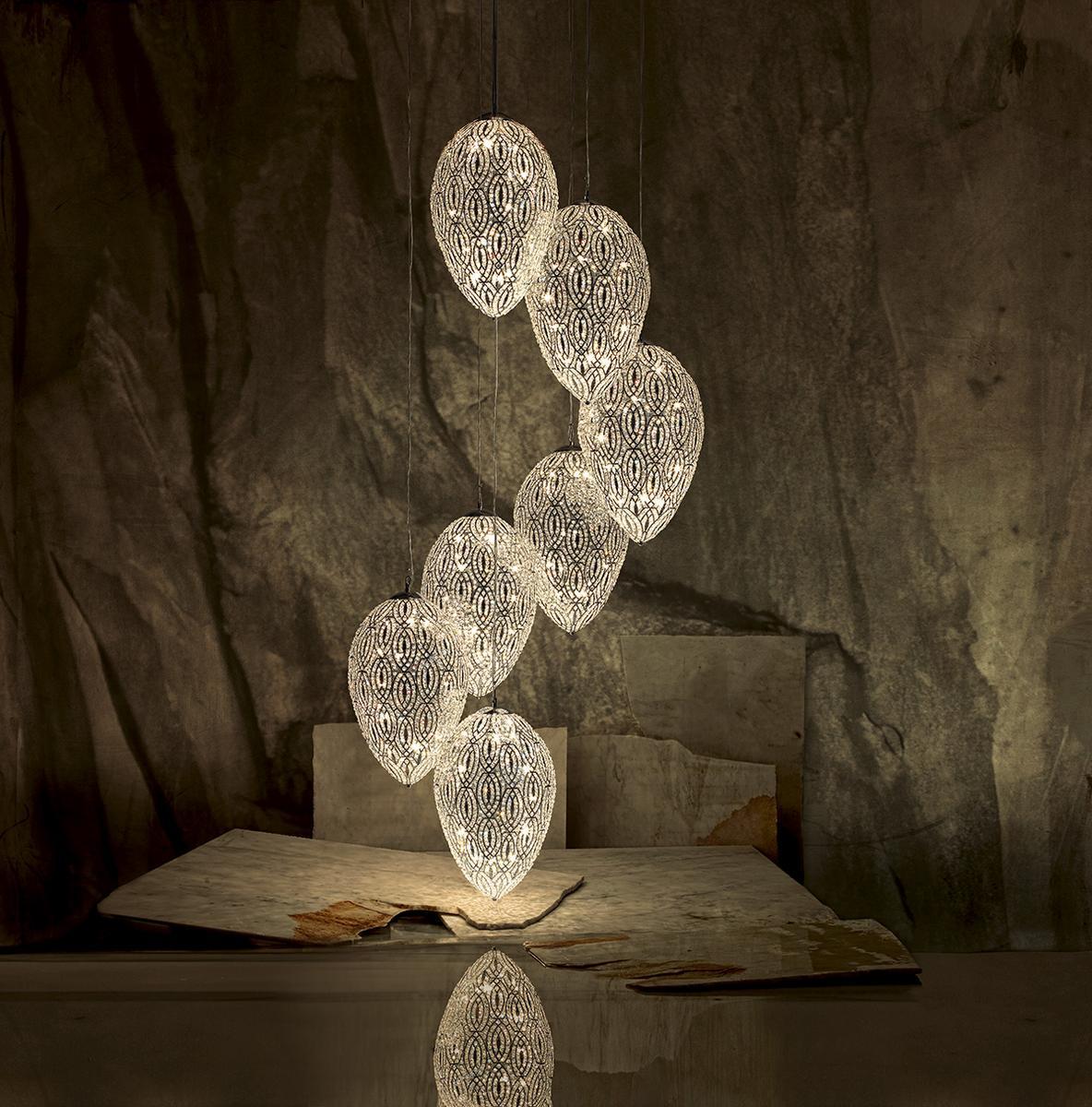 VGnewtrend  Lampadari LED custom extra large per interni di lusso
